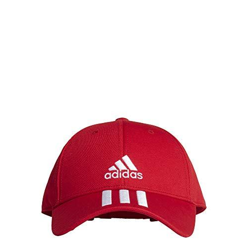 adidas Bball 3s cap Ct Cappellino, Unisex – Adulto, Scarlet/White/White, OSFM