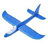 BSTQC Mano Launch Glider Planes Schiuma aliante Giocattolo Outdoor Sports Glider Planes Manuale Launch Glider Volante Lancio Aereo