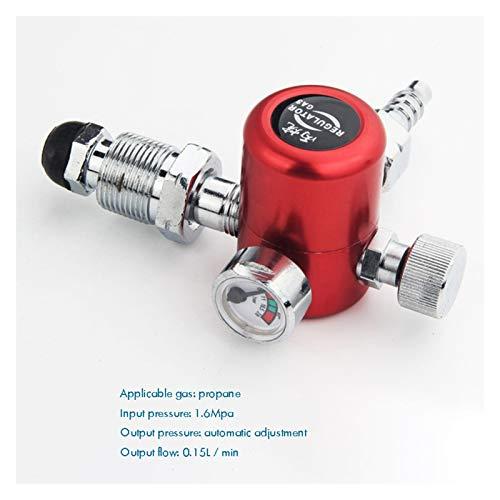 NKJH Das elektromagnetische Ventil Gasdruckminderer Regler Flow Meter Meter-Messgerät, Druckminderer for Schweißen Schneiden Industriebedarf (Color : C)