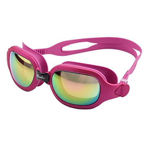 UKKD Gafas Natación Gafas De Natación Adulto Hombres Y Mujeres Anti-Niebla Y Gafas A Prueba De Agua Máscara De Buceo