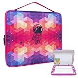 Hard Travel Carrying Case for Crayola Light-up Tracing Pad, Large Capacity Storage for Tracing Pencil, Sheets and Accessories, CASE ONLY