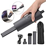 Handheld Cordless Vacuum Cleaner Air Duster Blower Dual-Purpose Rechargeable Portable Handheld Mini Vacuum Easy to Clean Keyboard Computer Office Desk