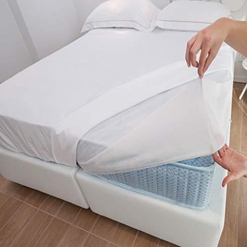 Coprimaterasso USA E Getta in TNT 1 Piazza, universale per letto singolo per hotel casa riposo casa vacanza igienico