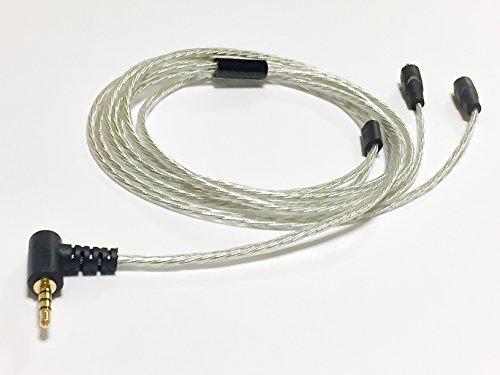 G&V 2.5mm 4極 MMCX 対応 バランスケーブル 1.2m SE-2BA-SL-L