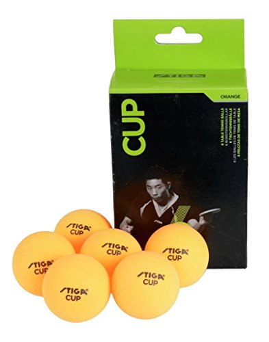 Stiga Cup Table Tennis Ball -Orange