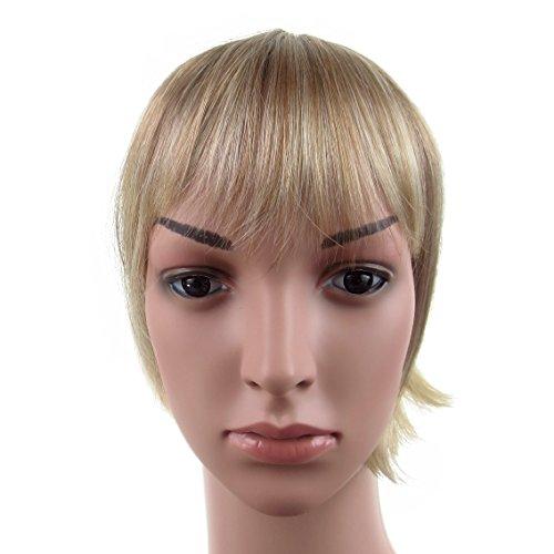 419 VANESSA GREY Toutes les couleurs disponibles, Pince Cheveux Super Frange Vraiment Naturelle Mélange De Blonds Vénitiens