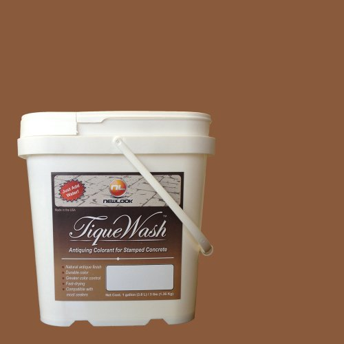 TiqueWash 3 lb. Antiquing Colorant for Stamped Concrete (Terra Cotta)