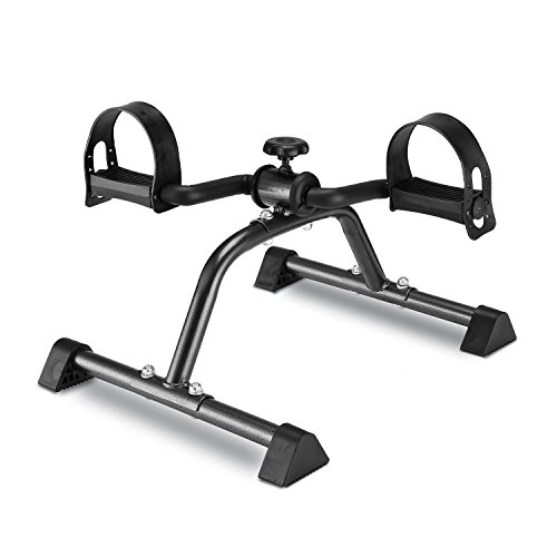 MOMODA Pedal Exerciser Mini Exercise Bike Foot Peddler for Leg and Arm Rehab...