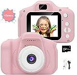 Caméra vidéo pour Enfants, vidéo HD 1080p / caméscope, écran LCD 2 Pouces, est...