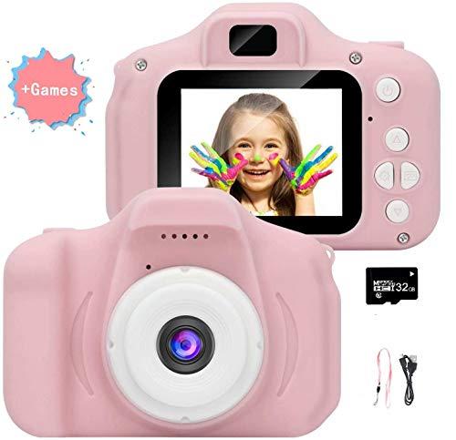 Fotocamera per bambini, videocamera/video HD 1080p, schermo LCD da 2 pollici, IS viene fornito con scheda di memoria 32G-97