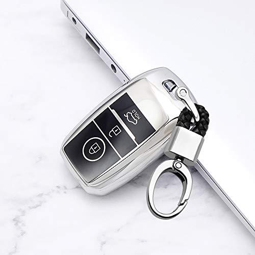 ontto - Carcasa para llave de coche para Kia Ceed Rio Sorento Soul K3 Optima Sportage Cerato 2013-20