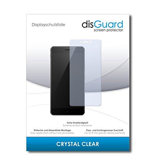 disGuard® Bildschirmschutzfolie [Crystal Clear] kompatibel mit TP-Link Neffos X1 Max [2 Stück] Kristallklar, Transparent, Unsichtbar, Extrem Kratzfest, Anti-Fingerabdruck - Panzerglas Folie, Schutzfolie
