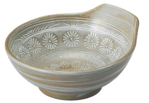 銀峯陶器『花三島とんすい大』