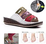 DSZZ Health Big Toe Foot Correction Sandal for Women Bunion Corrector Shoes Summer