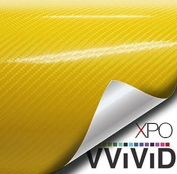 yellow carbon fiber