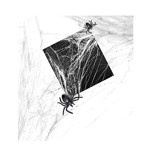 Spinnennetz, 1 Stück, weiss, 60 gr - Halloween Dekoration