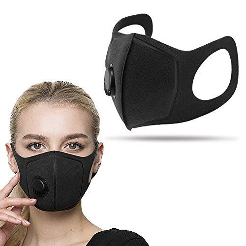 3pack ProMask munskydd, med ventil, återanvändningsbart