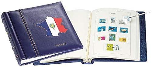 Leuchtturm SF-Vordruckalbum im Classic-Design France 2015-2017, inkl. Schutzkassette, blau