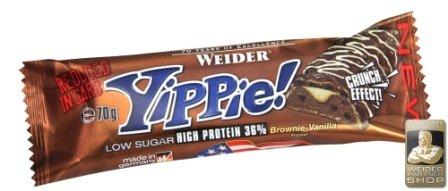 Weider Yippie Bar, Mix-Box, 18 x 45g (1 x 810 g)
