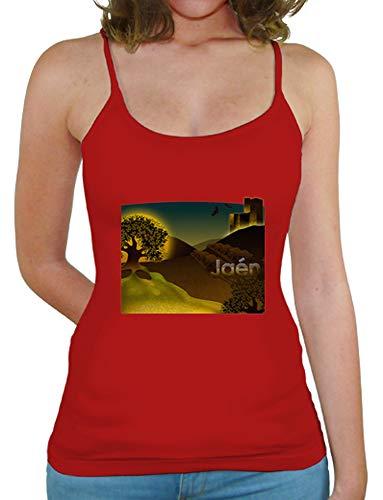 latostadora - Camiseta Jan Tirantes Chica para Mujer