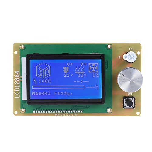 Anet 3D Printer Parts 12864 - Módulo de controlador de pantalla LCD con cable para RAMPS1.4 Arduino Mega Pololu Shield Arduino