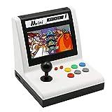 Consola de juegos de arcade para el hogar Consola de juegos retro clásica 3000 en 1 Pantalla LCD de 7 pulgadas 53 Juegos de vibración 3D Admite juegos multijugador Consola de videojuegos portátil
