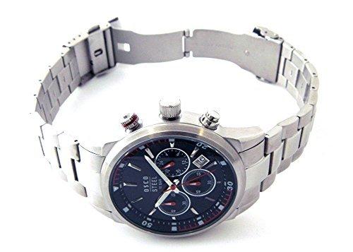 OSCO Germany Herren Uhr Analog mit Edelstahl Armband 6193002