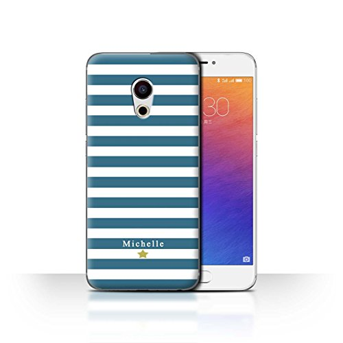 Stuff4 Phone Case/Cover/Skin/mzupro6/Custom Stripes/Striped Collection Coeur Rayure Cerise
