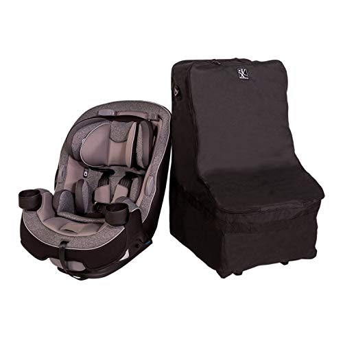 J.L. Childress Wheelie Car Seat Travel Bag, Black