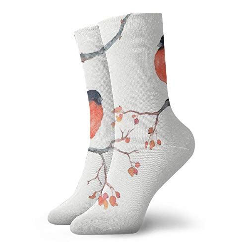 NOT ClassicsCompressionSocks Bullfinches Athletic 11.8inch(30cm) Long Crew Socks for Men Women