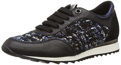 Tosca Blu Shoes Damen MASK Sneakers, Schwarz (C30), 37 EU