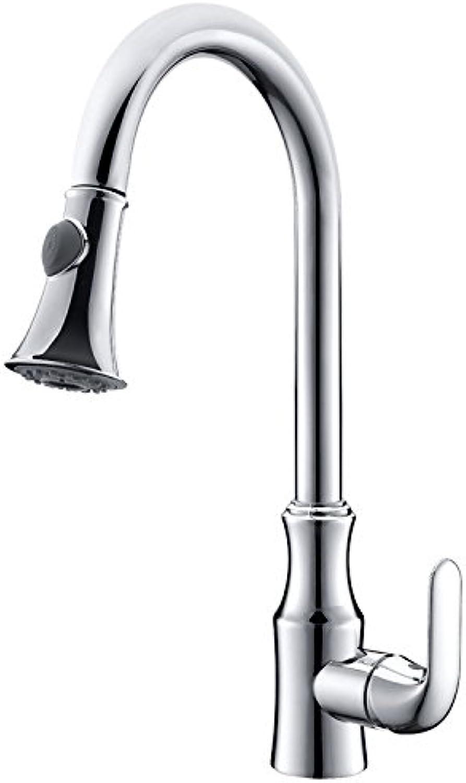 Bijjaladeva Wasserhahn Bad Wasserfall Mischbatterie WaschbeckenVerchromtes Messing Küche Gerichte im gesamten Becken von kaltem Wasser Armaturen für die Küche Spültisch Armatur