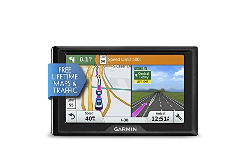 New Garmin Drive 50 USA + CAN LMT GPS Navigator System with Lifetime Maps and Traffic, Driver Alerts...