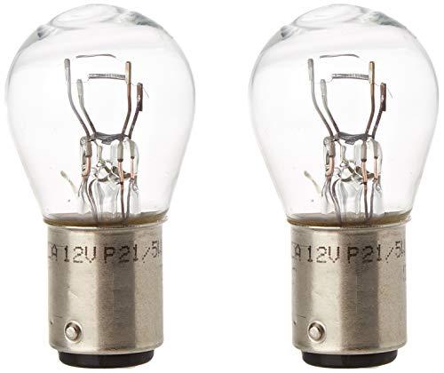 HELLA 8GD 002 078-123 Lámpara, P21/5W, Standard, 12V, 5W, Tipo de portalámpara BAY15d, Embalaje Blister, Cantidad 2