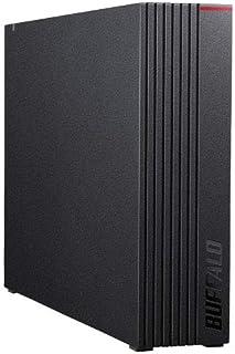 バッファロー 外付け ハードディスク HD-NRLD8.0U3-BA [ブラック]