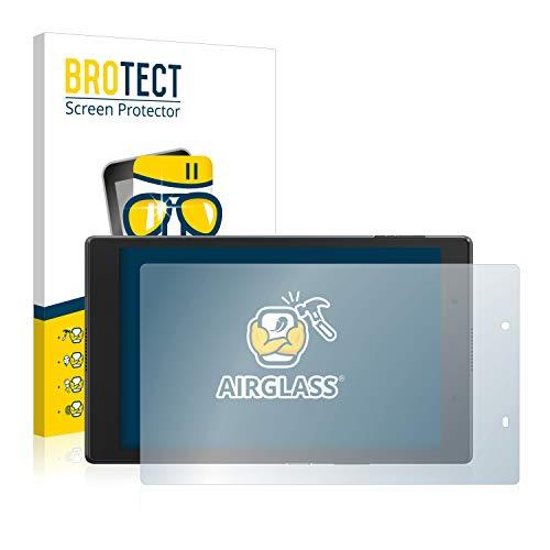 BROTECT Panzerglas Schutzfolie kompatibel mit Lenovo Tab 4 8 - AirGlass, 9H Festigkeit, Anti-Fingerprint, HD-Clear