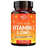 Powerful <span class='highlight'>Vitamin</span> C and Zinc Tablets - <span class='highlight'>Vitamin</span> C <span class='highlight'>1000</span><span class='highlight'>mg</span> <span class='highlight'>with</span> Zinc - Boosted <span class='highlight'>with</span> Citrus Bioflavonoids & Bamboo - For The Maintenance of a Normal Immune System - 180 Tablets - 6 Month's Supply - UK Made