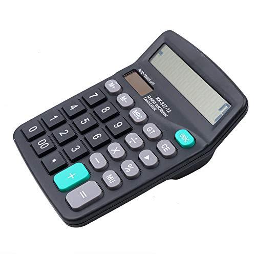 12dígitos calculadora oficina Jumbo grandes botones Solar mesa Financiers negocios herramienta contabilidad