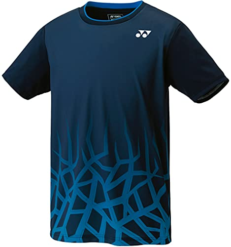 [ヨネックス] 半袖シャツ ゲームシャツ(フィットスタイル) ネイビーブルー (019) L