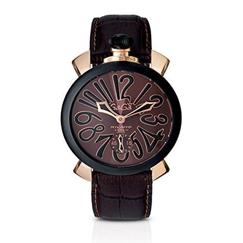 Gaga Milano manuale 48mm PVD reloj Ref 5014.02