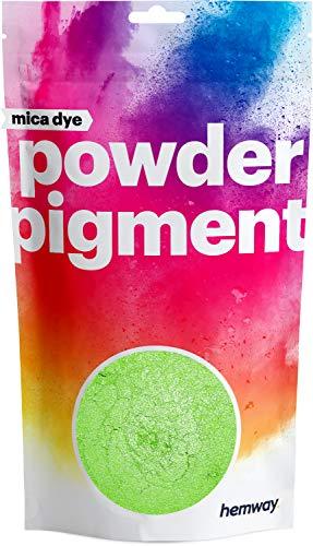 Hemway Mica - Parbpulver - Eisenoxid - für Schminke, Badekugeln, glitzernde Lidschatten, Nailart & perlmuttern schimmernde Foundation