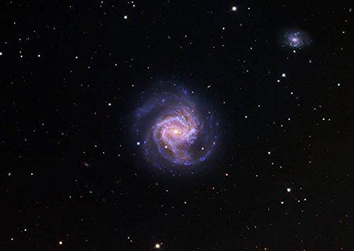 Preisvergleich Produktbild The Poster Corp Robert Gendler / Stocktrek Images M61 Spiral Galaxy in Virgo Kunstdruck (43, 18 x 27, 94 cm)