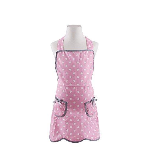 G2PLUS Schön Kinderschürze Schürzen Baumwolle Küchenschürze Modische Apron mit Taschen zum Kochen oder Backen (Kinder Schürze)
