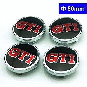 4pcs GTI Logo 60mm rueda Center Hub Caps para funda para Volkswagen MK4MK5MK6volkswagen golf Volkswagen Polo