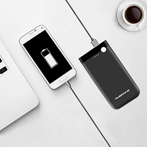 Ambrane 10000 mAH Lithium Polymer Power Bank with Micro/Type C Input for Android & iPhone (PP-11, Black) 5