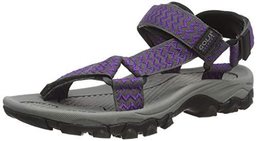 Gola Blaze, Sandalias de Senderismo Mujer, Morado (Purple/Grey Vg), 39 EU