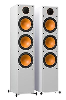 Monitor Audio Monitor 300 White Floorstanding Speakers (Pair) from Monitor Audio