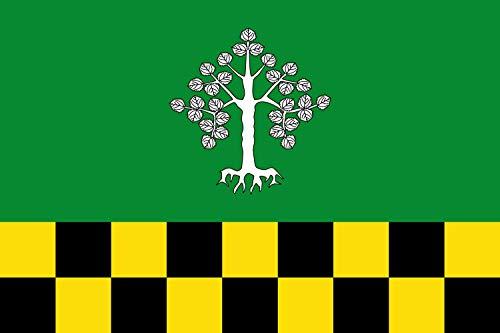 magFlags Bandera Large Representación de la Bandera de Albesa | Bandera Paisaje | 1.35m² | 90x150cm