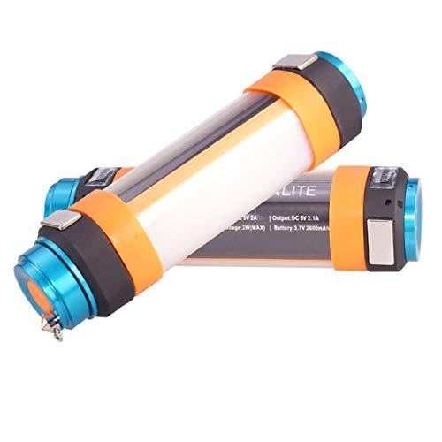 HOMZYY outdoor camping licht waterdichte draagbare USB opladen buitenverlichting camping tent camping licht (1 verpakking)
