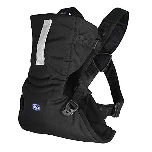 Chicco Easy Fit - Chicco Easy Fit - Mochila Ergonómica Portabebé, De 0 A 9 Kg, Color Negro (Black Night)